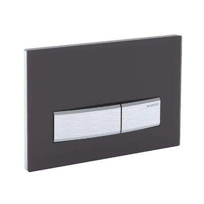geberit dr ckerplatte sigma 50 schwarz chrom f r up 320. Black Bedroom Furniture Sets. Home Design Ideas